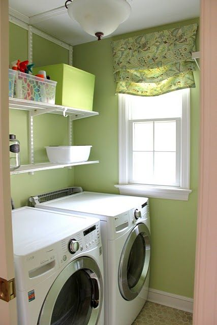 Houseography Blue Laundry Rooms House Laundry Mud Room
