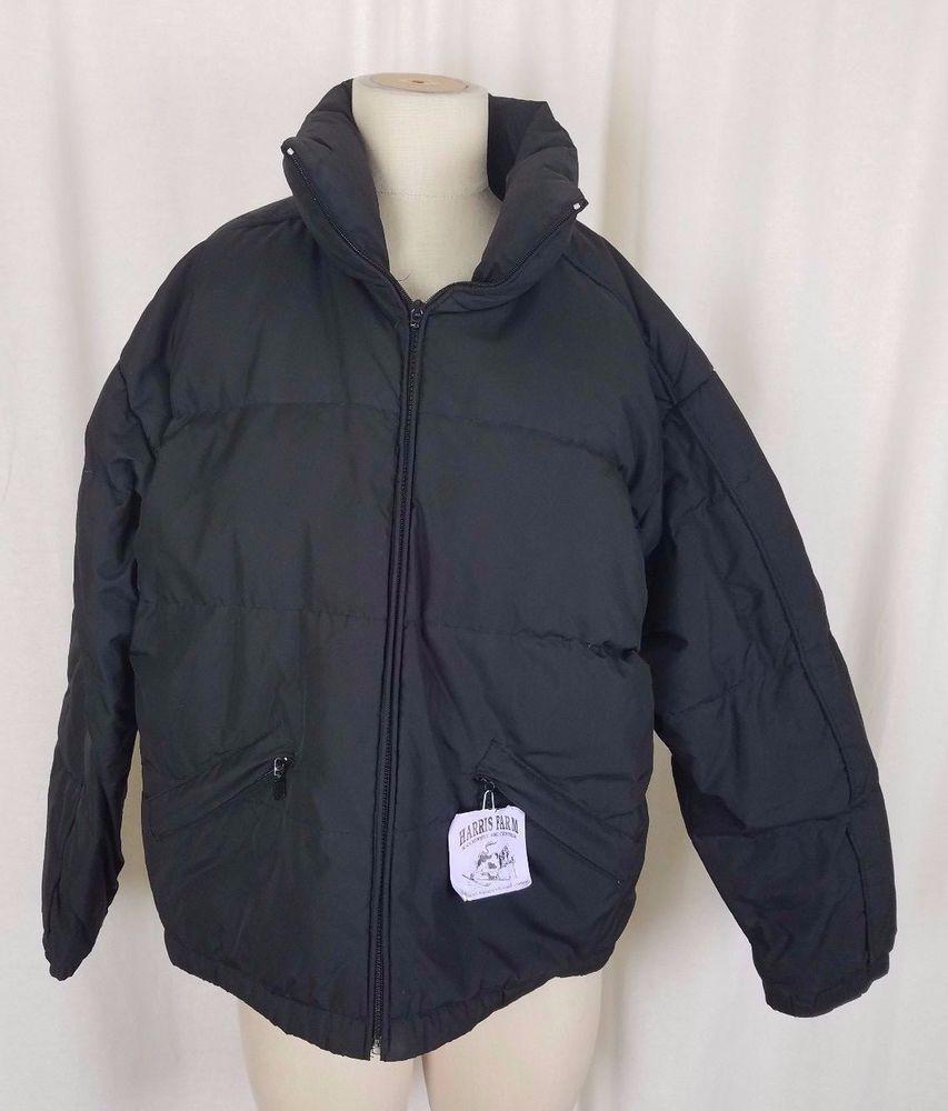 47f84a639b0b Vintage Braetan Goose Down Winter Puffer Jacket Ski Parka Womens M Black   Braetan  Parka  Outdoor