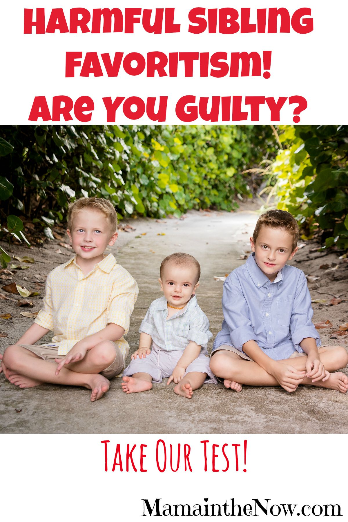 Harmful Sibling Favoritism! Are You Guilty? | Mama in the