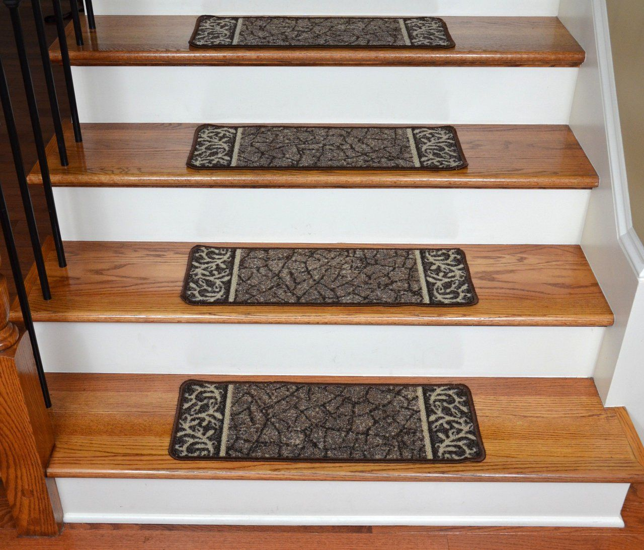 Best Dean Washable Non Skid Carpet Stair Treads Garden Path 400 x 300