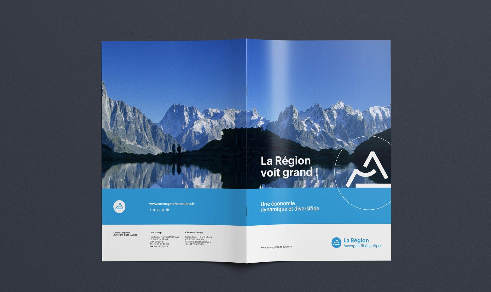 Architecture de marque de la Région AuvergneRhôneAlpes