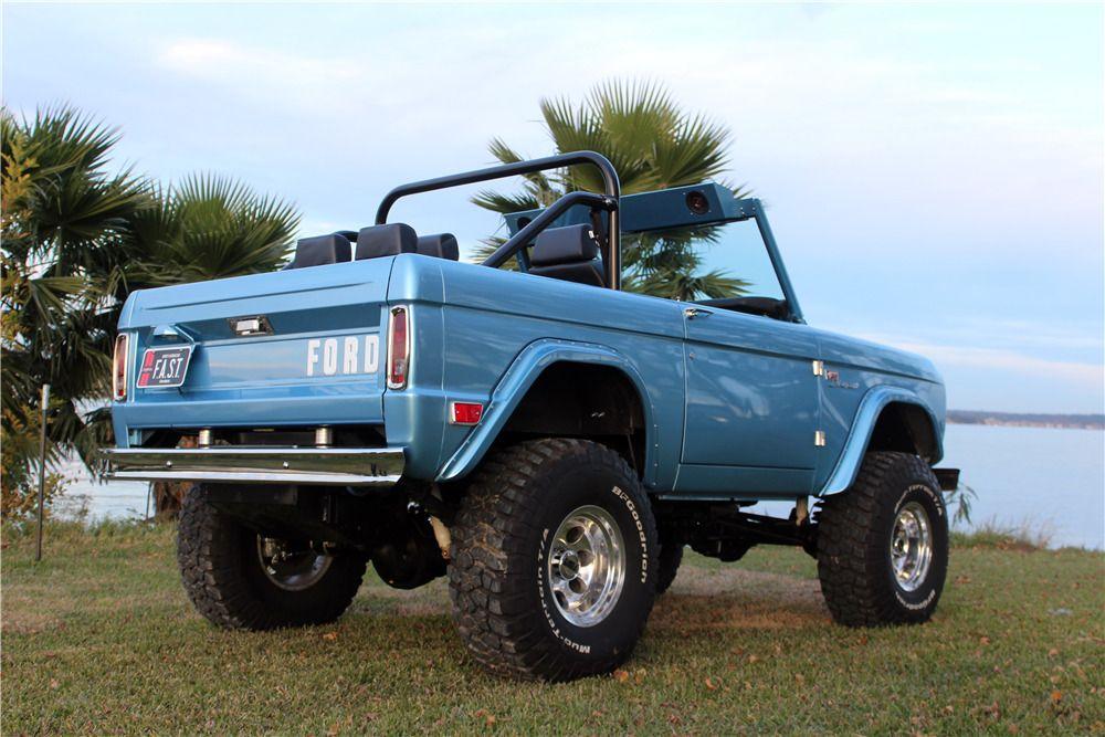 1968 FORD BRONCO CUSTOM SUV in 2020 Ford bronco, Bronco