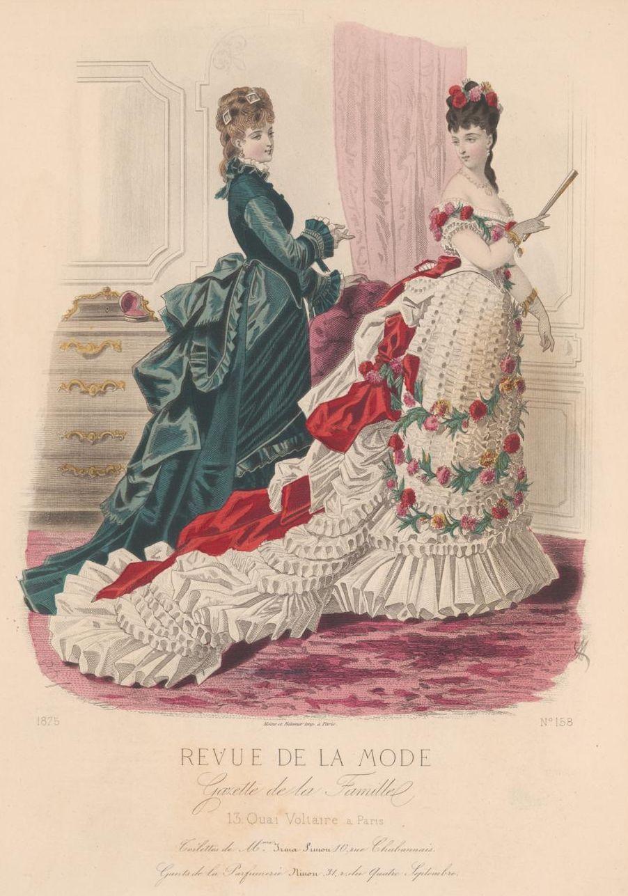 Revue de la mode 1875 exquisite history of fashion for Exquisit mode