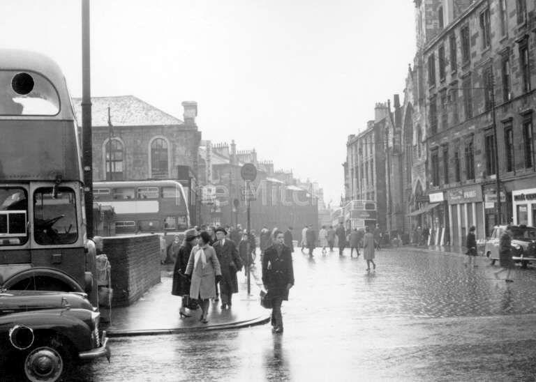 Dundas Street bus station 1960 | Scotland | Glasgow city, Glasgow