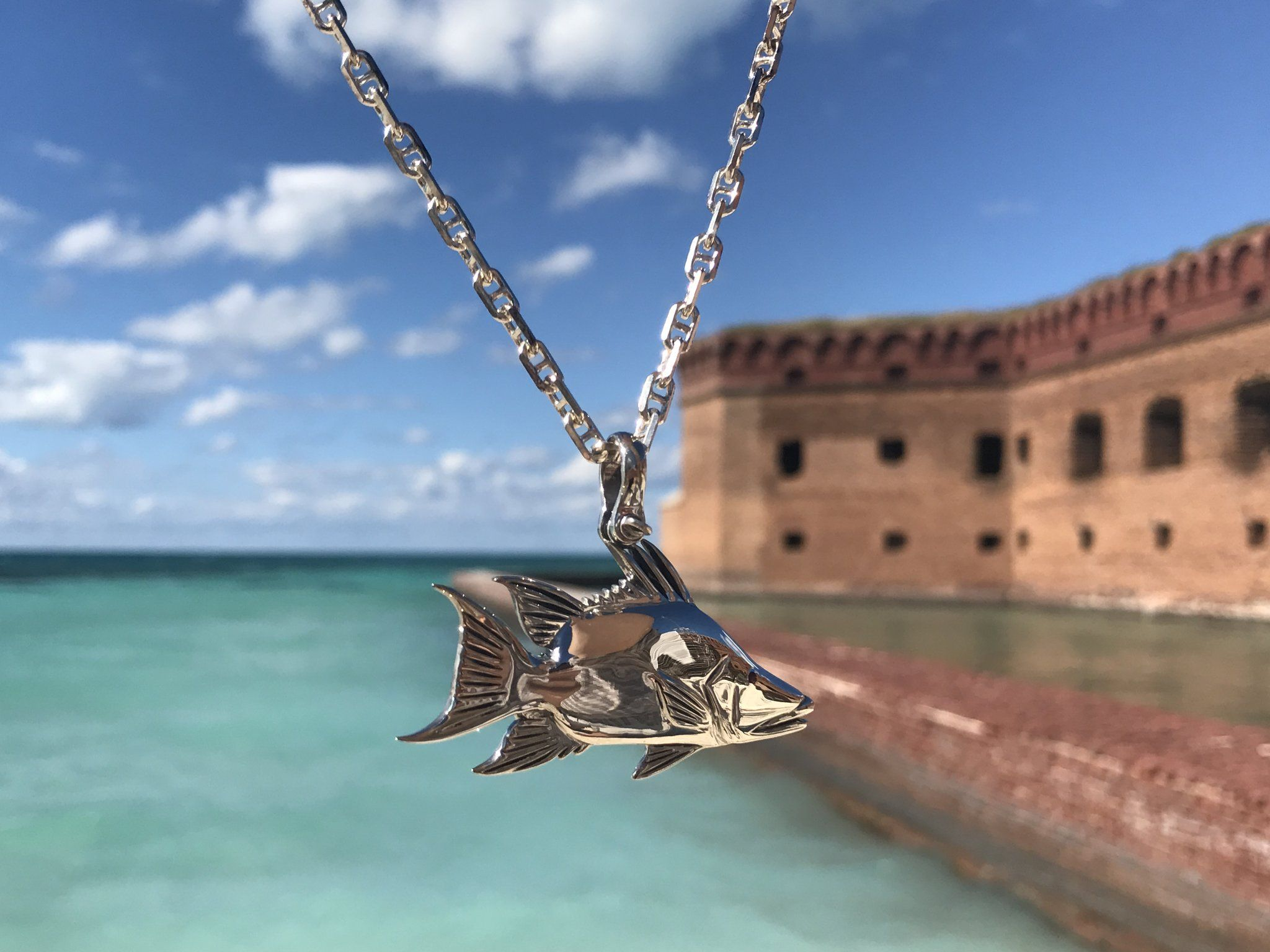 Nautical Treasure Jewelry Men Women Anglers Tournament Jewelry