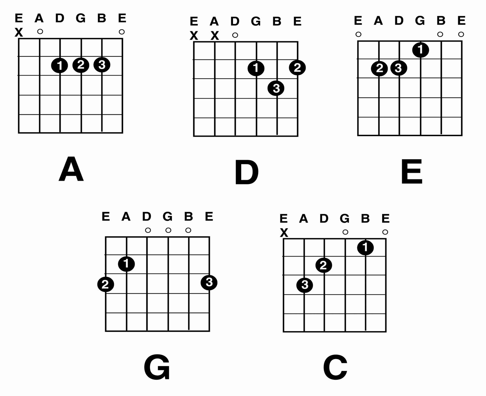 Chord Chart Acoustic Guitar Best Of Guitar Chords Guitar Major Chord Charts Guitar Chord Chart Guitar Chords Guitar Chords Beginner