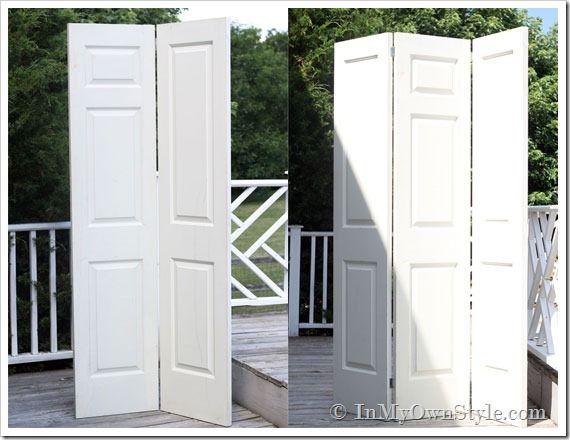 DIY: How To Make a Decorative Folding Screen & DIY: How To Make a Decorative Folding Screen | Screens and Doors Pezcame.Com