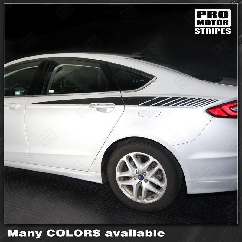 Ford Fusion 2013 2019 Rear Quarter Side Accent Stripes Ford Fusion Ford 2013 Ford Fusion