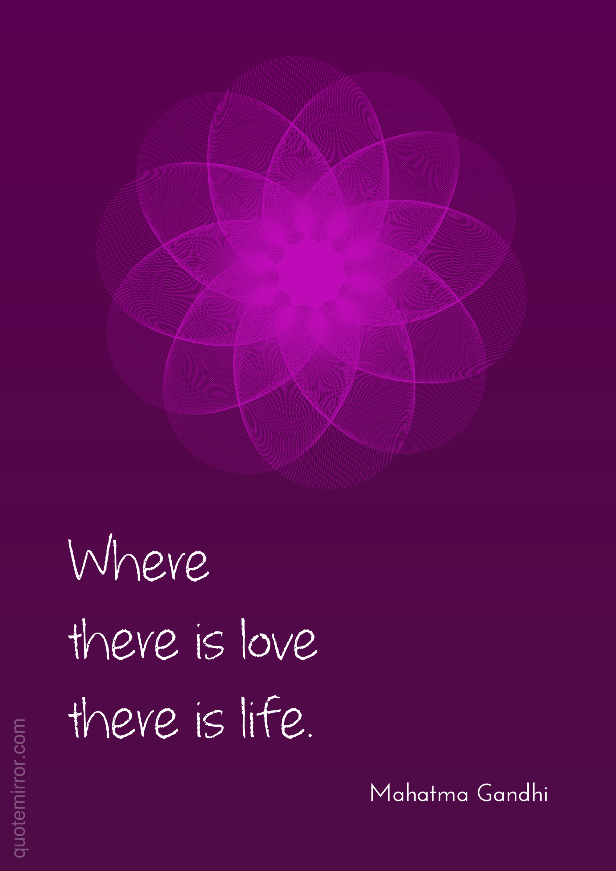 Gandhi Quotes On Love Where There Is Love  Gandhi Life Mahatma Gandhi And Mahatma