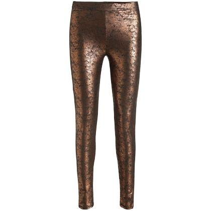 Leggings im Metallic Look - Glamouröse Leggings in Kupfergold von Esprit. Du  willst auf der 8ad3871baf