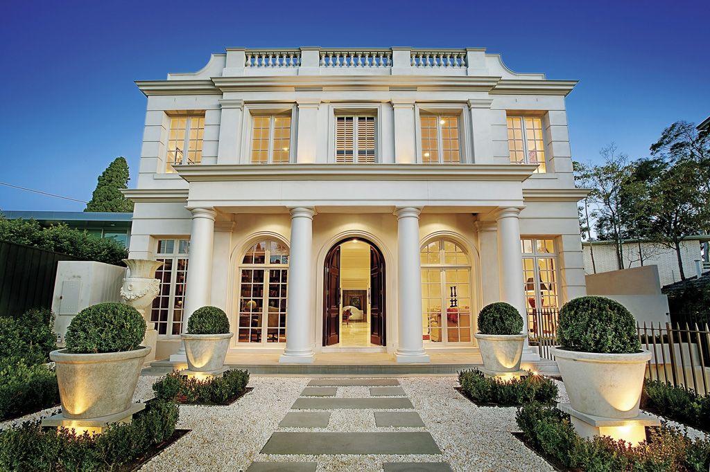 Maxwell court toorak 3142 kay burton real estate melbourne australia homes estates for Classic home designs australia