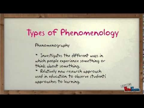 6) Phenomenological Research - YouTube Research Research