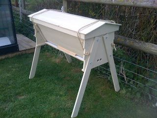 Longworth Allotment Apiary Group: Bee hives