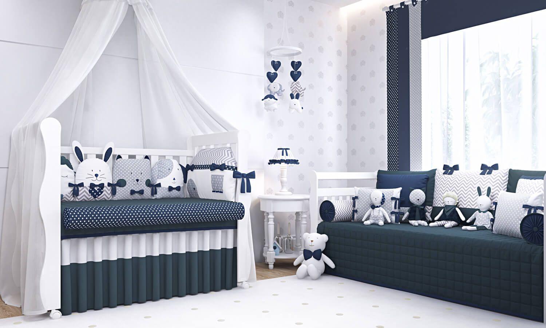 Os Conceitos De Quarto De Beb Azul Marinho Foram Atualizados  ~ Quarto Azul Marinho E Branco E Montar O Quarto Do Bebe