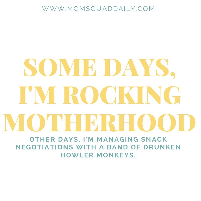 Drunken Howler Monkeys Lol Rocking Motherhood Parenting Memes Interesting Childcare Quotes