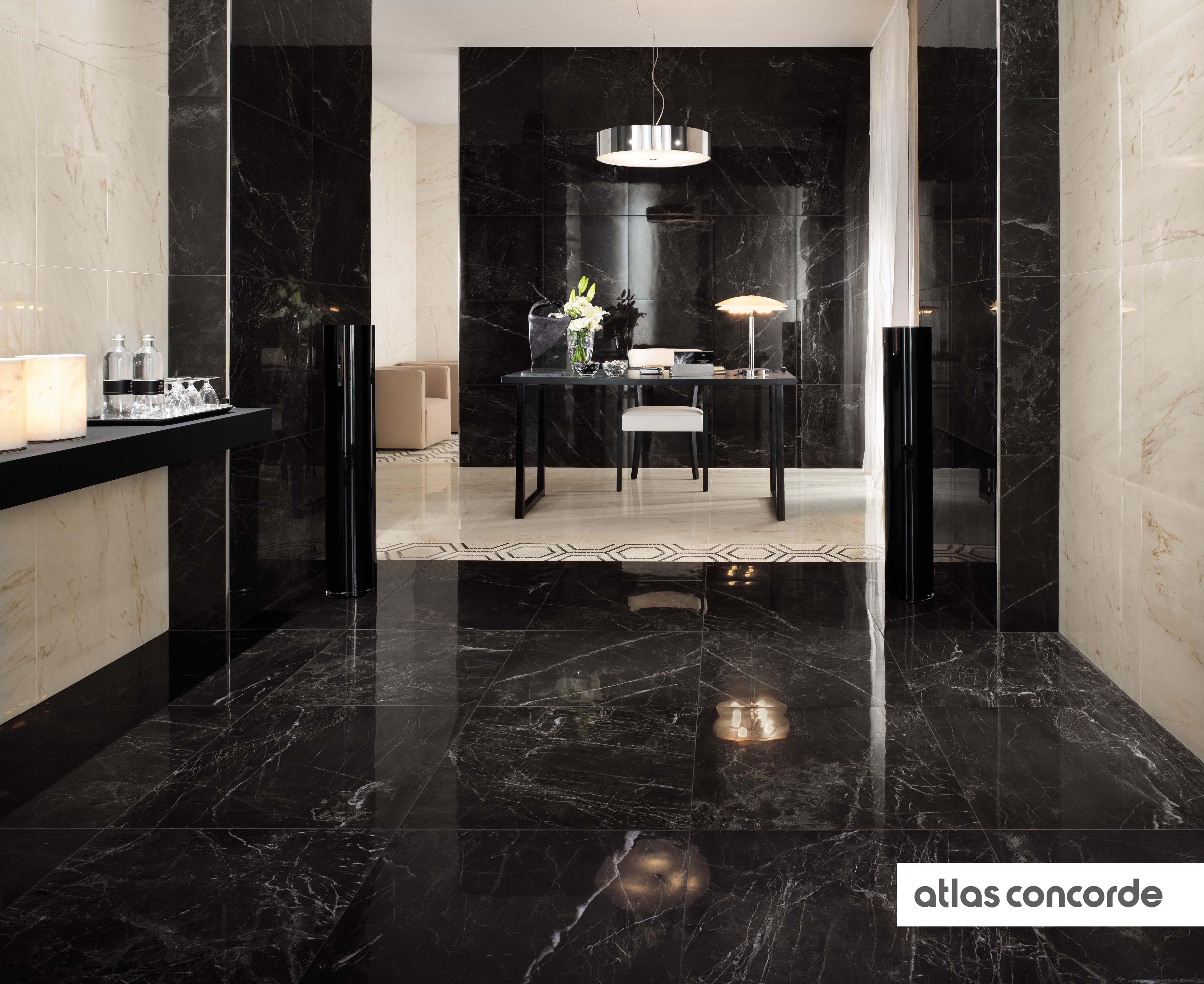 Marble Look Floor Tiles And Wall Tiles Marble Look Tile Marble Effect Black Marble Tile