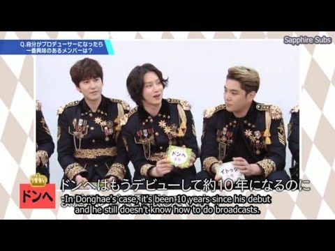 ENG SUB] SJ SS6 JPN DVD FULL [BTS & GAMES] | Super Junior