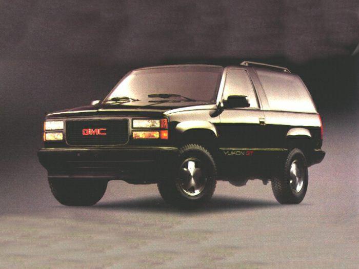 1995 Gmc Yukon Specs Safety Rating Mpg Carsdirect Gmc Yukon Gmc Yukon
