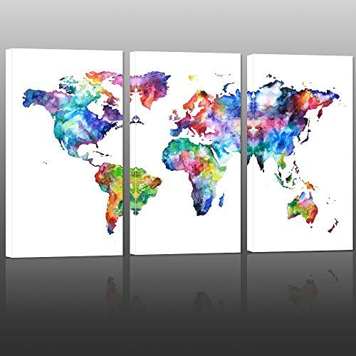 World map canvas artvintage map poster printed on canvas with world map canvas artvintage map poster printed on canvas with frame ready to hangcanvas artmap of world canvas prints wall artmap poster artwork 32x48 gumiabroncs Gallery