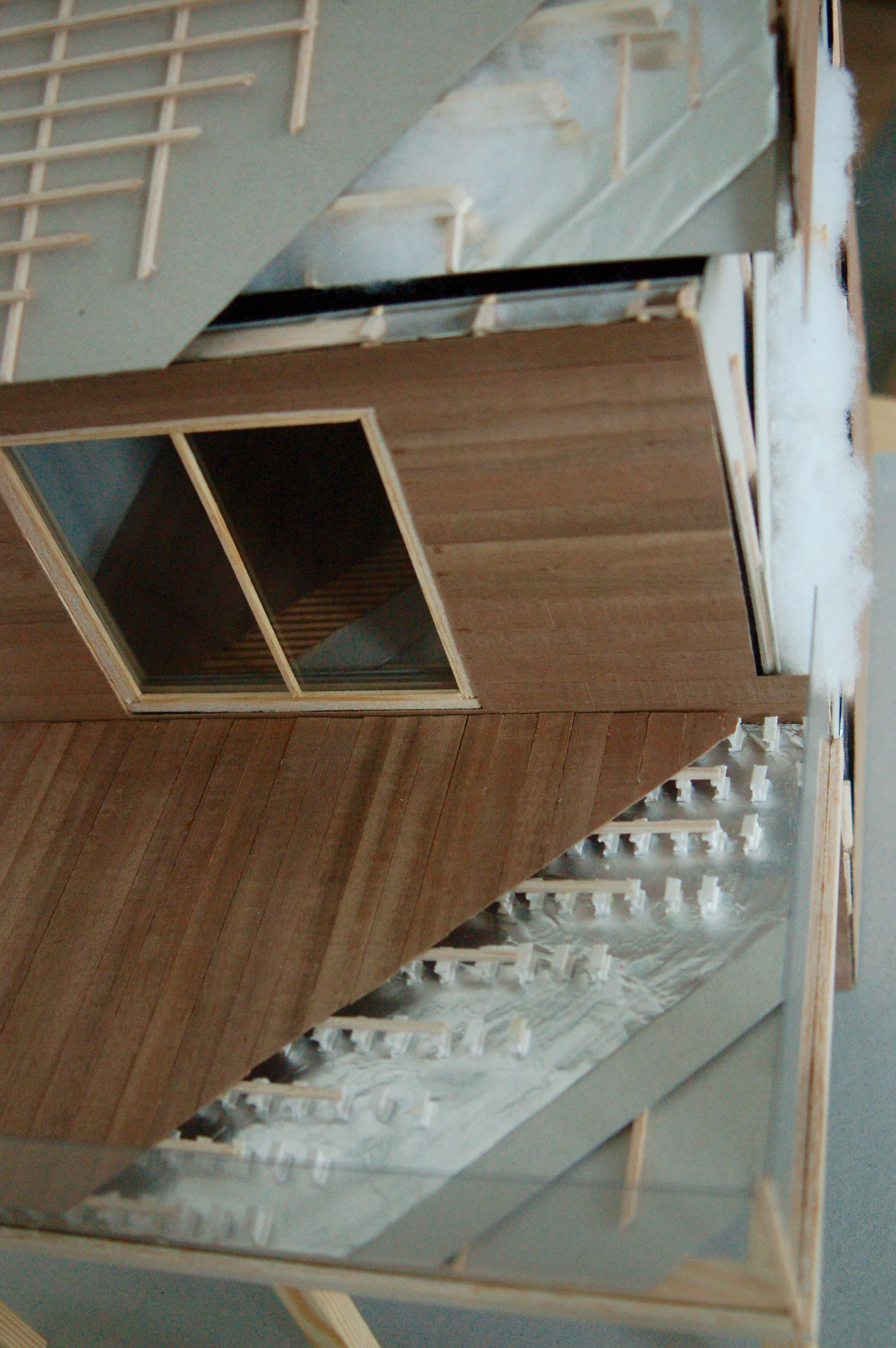 Architecture D Intérieur Saint Luc maquette de construction d'une maison à ossature bois