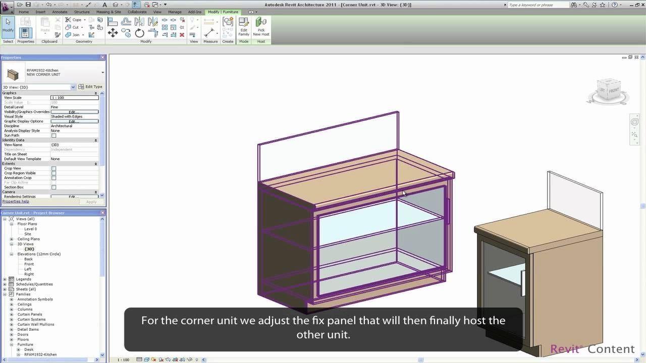 Custom Cabinet Custom Cabinets Revit Tutorial Design Kitchen Design Examples Kitchen Cabinets Custom Cabinets