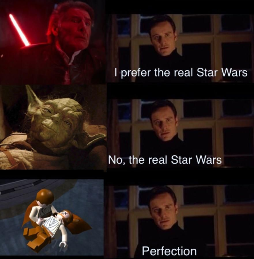 Show Some Respect For This Game Memes Viral Trends Funny Meme Twitch Kappa Star Wars Memes Star Wars Humor Lego Star Wars
