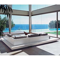 Rausch Platform Outdoor Sectional Sofa  sc 1 st  Pinterest : platform sectional sofa - Sectionals, Sofas & Couches