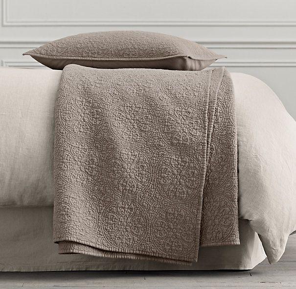 Vintage washed belgian linen quilt sham master bedroom vintage washed belgian linen quilt sham publicscrutiny Images