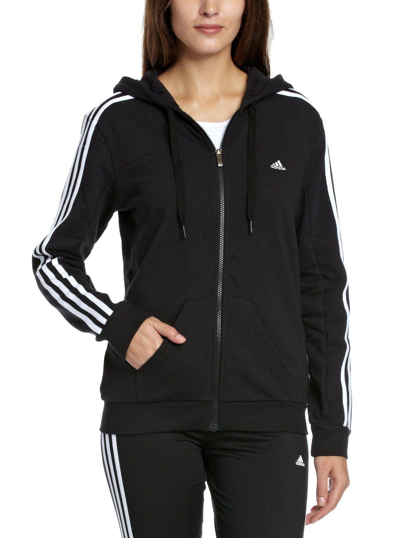 giacca con cappuccio adidas