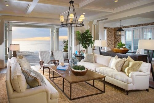 Bon Cape Cod Style Living Room