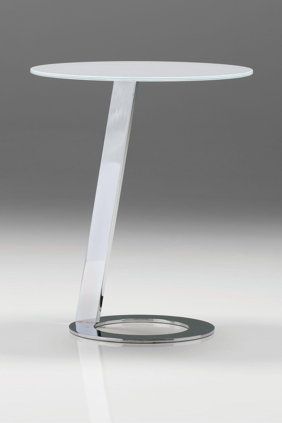 Vivid End Table Chrome White White End Tables End Tables Fantastic Furniture