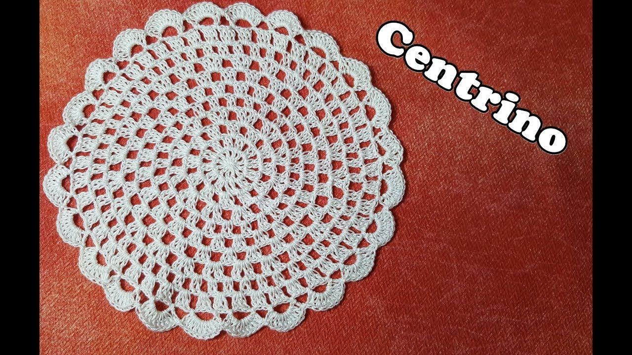 Tutorial Centrino Facile Alluncinetto Easy Crochet Tutorial