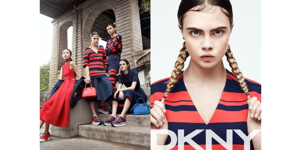 Models: Cara Delevingne, Binx Walton, Xiao Wen, Sam Rollinson Photographer: Gregory Harris
