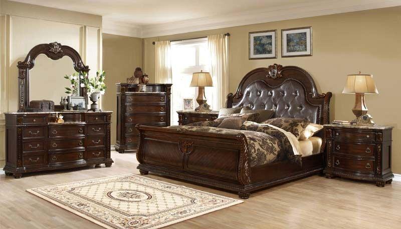 Mcferran Home Furnishings B9500 5 Piece California King Bedroom