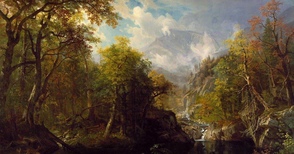Lukisan Pemandangan Hutan Rimba Bebas Foto Resolusi Tinggi Dari Pemandangan Hutan Air Terjun Kabut Rimba Medan Badan Air Hutan Di 2020 Seni Pemandangan Seni Melukis