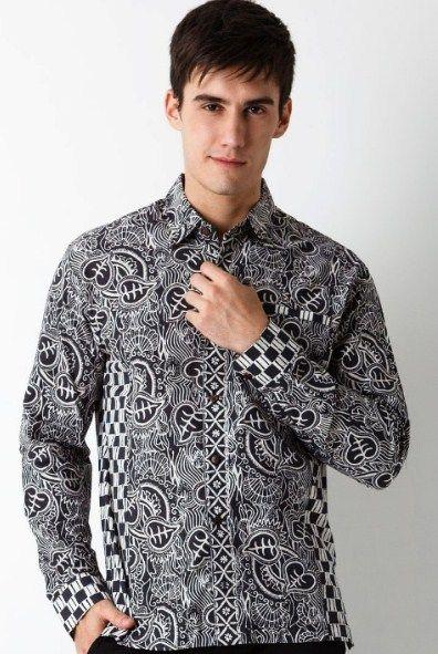 Model Jahitan Baju Batik Pria Terbaru Sepatu Murah Model Kemeja