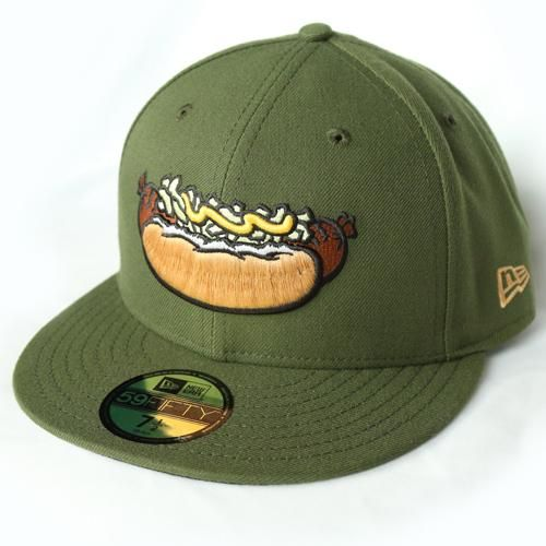 841dc884 Wisconsin Brats night Wisconsin Timber Rattlers Fitted Hat | Hats in ...