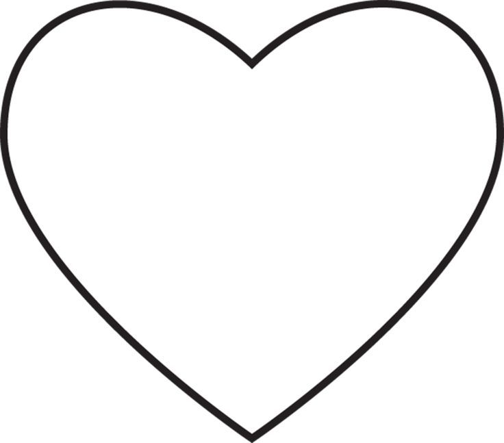 Sharing Time Heart Coloring Page