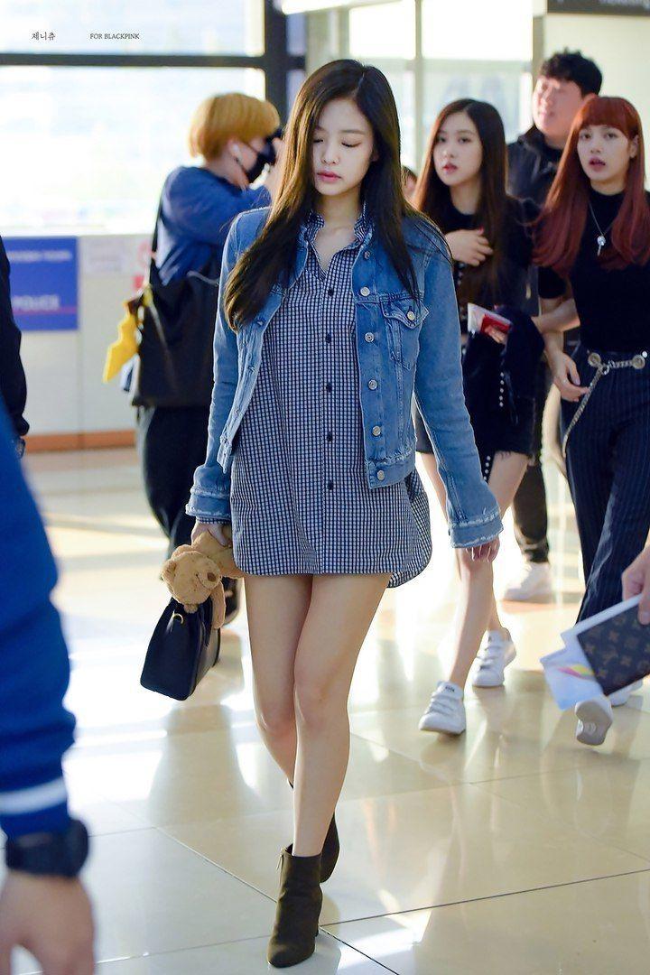 BLACKPINK - JENNIE | Kpop Fashion | Pinterest | Blackpink Blackpink jennie and Airport fashion