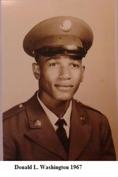 Virtual Vietnam Veterans Wall of Faces | DONALD L WASHINGTON | ARMY