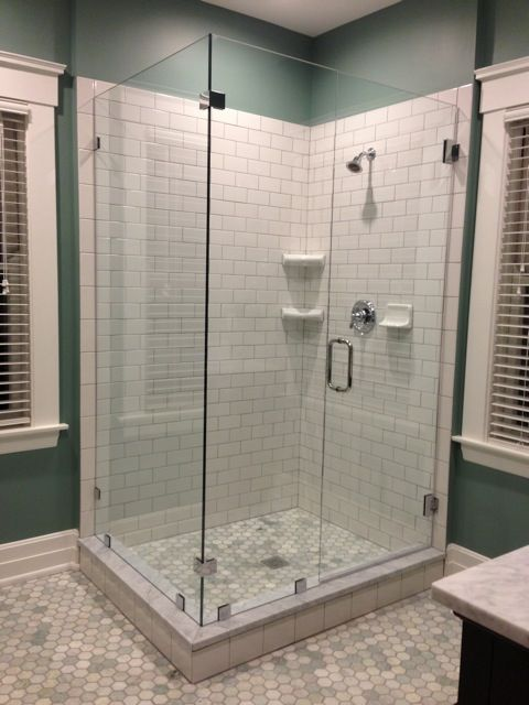This Discerning Client Requested No Silicone To Be Used Alluring Glass Accomplished This By The Addition Of Cl Frameless Shower Glass Enclosure Shower Doors