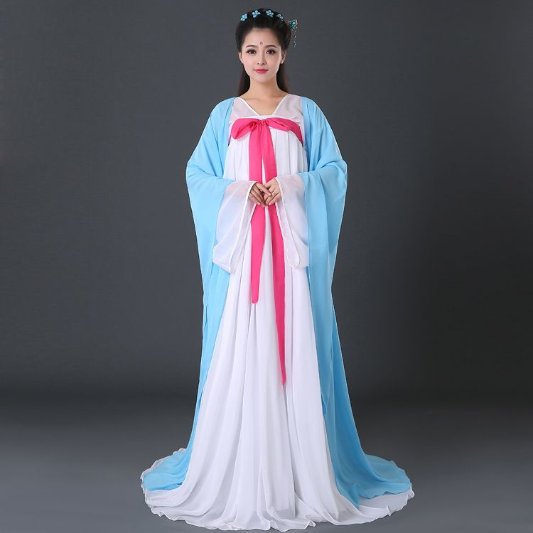 2016 female ancient chinese costume hanfu tang dynasty