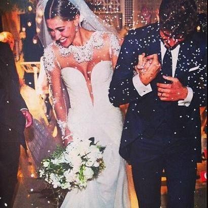 Anniversari Matrimonio Belen.Belen Rodriguez Italianwedding Abiti Da Sposa Matrimonio