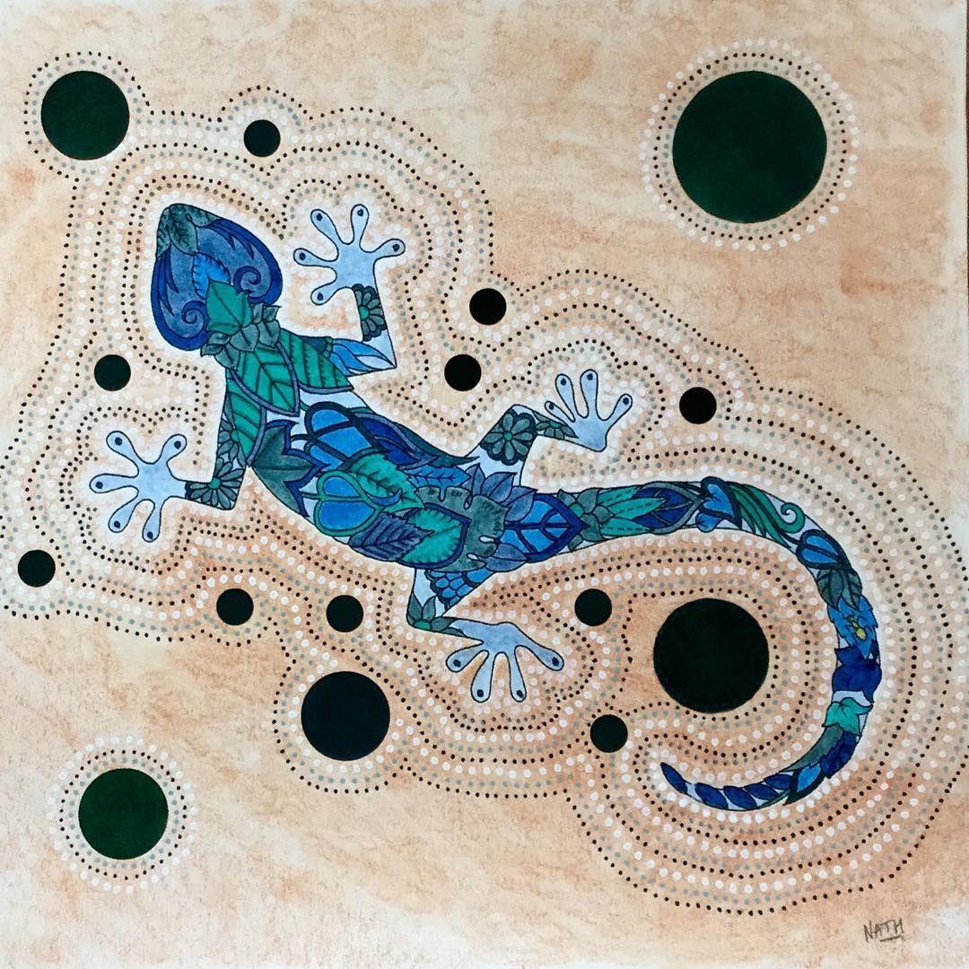 My Coloring Johanna Basford Magical Jungle Lezard