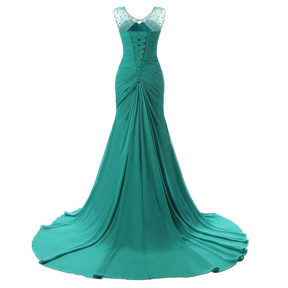 Lily Wedding Womens Mermaid Prom Bridesmaid Dresses 2018 Long ...