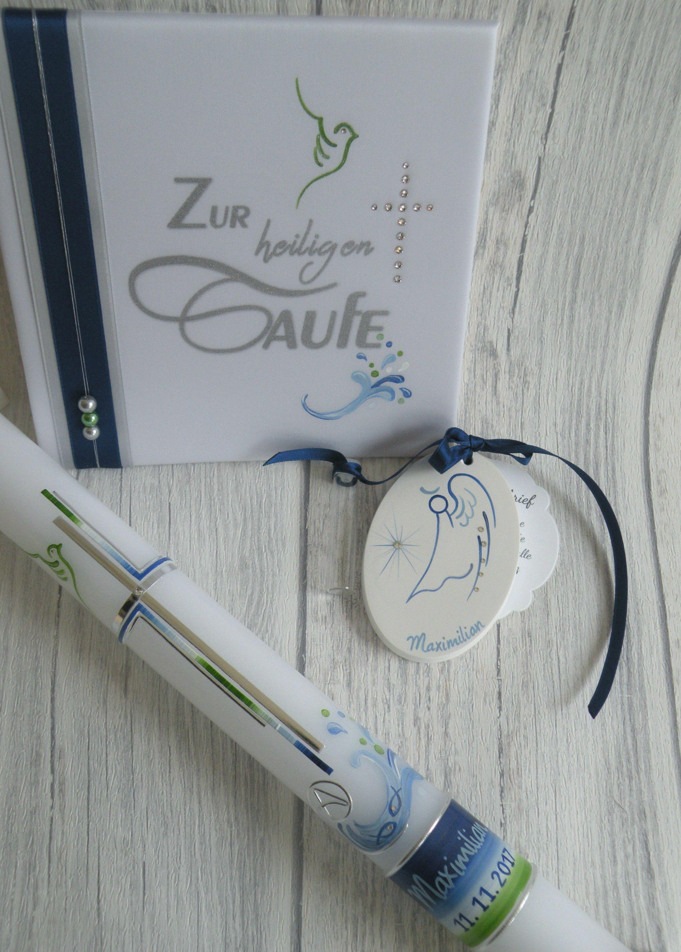 """Taufkerze //Kommunionkerze /""""Schutzengel/""""-Mädchen,Junge Taufgeschenk Konfirmation"""