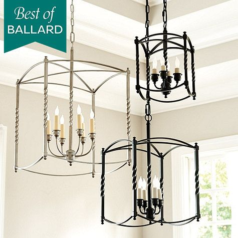 Carriage House Chandelier - Large, Ballard