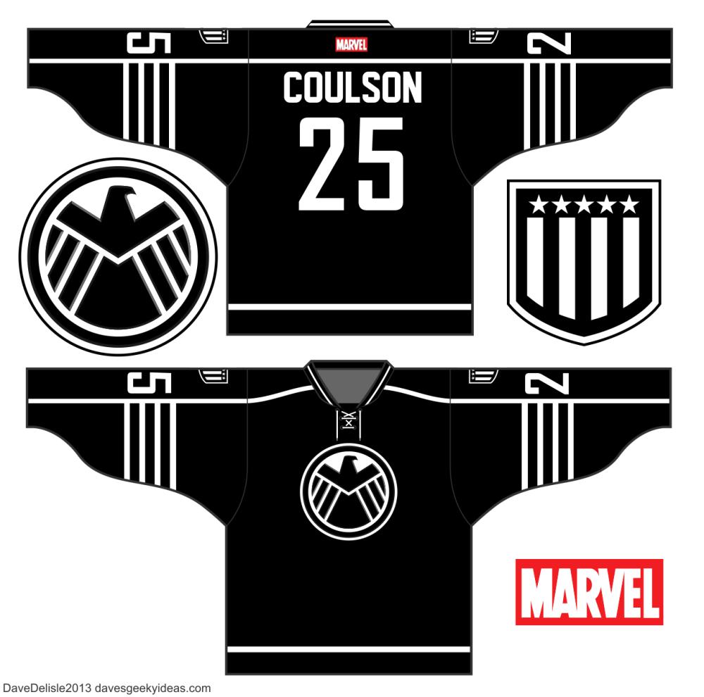 7779853582b S.H.I.E.L.D. Hockey Jersey Design