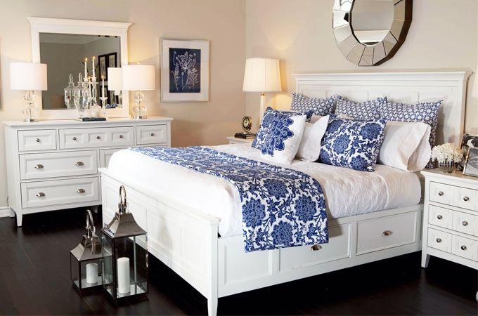 Ensemble de chambre coucher de style champ tre choix de couleurs ce produit fait parti de nos - Chambre a coucher champetre ...