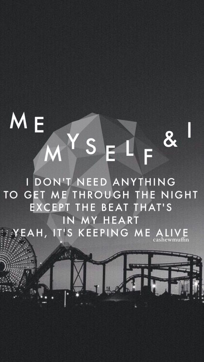 Me Myself And I G Eazy Lockscreen Wallpaper Lyrics Open For